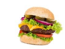 большой гамбургер Стоковое фото RF