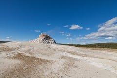 Большой гейзер Йеллоустон n фонтана P Стоковое Изображение RF