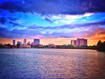 Большой город; Орландо Стоковые Изображения RF