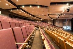 Большой лекционный зал в академии Стоковые Изображения