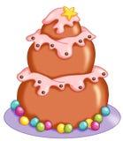 Большой десерт Стоковая Фотография RF