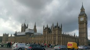 Большой запрет и Вестминстерское Аббатство Стоковые Фотографии RF
