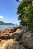 Большой залив острова Стоковая Фотография RF