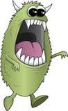 Большой зеленый изверг хеллоуина Стоковое фото RF