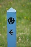 Большой знак пути Глена стоковое фото
