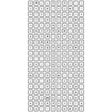 Большой комплект всеобщего значка иллюстрация вектора