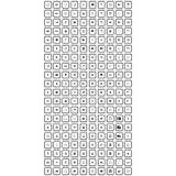Большой комплект всеобщего значка иллюстрация штока