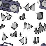 Большой комплект музыки Стоковое фото RF