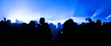 Большой концерт живой музыки стоковое фото