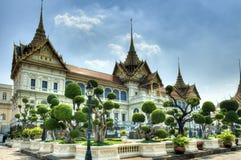 Большой королевский дворец Бангкока стоковая фотография