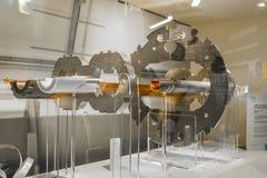 Большой коллайдер адрона Стоковые Изображения