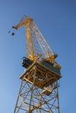 Большой кран порта Стоковое Изображение RF