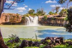 Большой красивый водопад Стоковое Фото