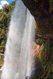 Большой красивый водопад Стоковые Изображения RF