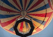 Большой красный воздушный шар Стоковые Изображения