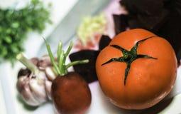 Большой красный томат Стоковое Изображение