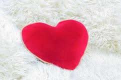 большой красный цвет сердца Стоковые Фото