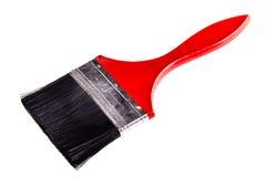 Большой красный paintbrush Стоковое Фото
