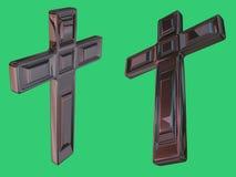 большой крест иллюстрация штока