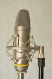 Большой микрофон студии диафрагмы Стоковые Фото