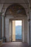 Большой монастырь церков Флоренса Charterhouse Di Firenze Certosa di Galluzzo Италия Взгляд Detalied стоковые изображения rf