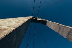 Большой мост пояса в Дании Стоковое Фото