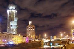 Большой мост Krasnokholmsky Стоковое Изображение RF