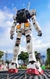 Большой модельный робот Gundum Стоковое Изображение