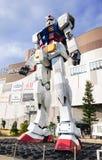 Большой модельный робот Gundum Стоковые Фотографии RF
