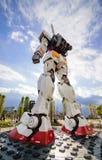 Большой модельный робот Gundum Стоковые Изображения RF