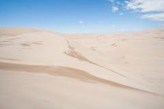 Большой национальный парк песчанных дюн в Колорадо Стоковые Изображения RF