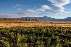 Большой национальный парк песчанных дюн в Колорадо Стоковое Изображение RF