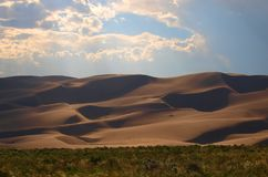 Большой национальный парк песчанных дюн Стоковое Фото