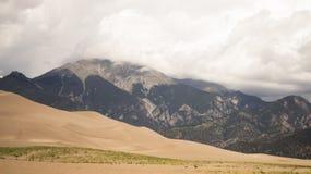 Большой национальный парк песчанных дюн стоковые фото