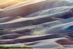 Большой национальный парк песчанных дюн Стоковая Фотография RF