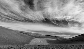 Большой национальный парк песчанных дюн Стоковые Изображения RF