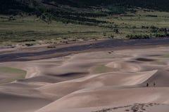 Большой национальный парк песчанных дюн Стоковое Изображение RF