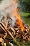 Большой огонь Стоковое Изображение