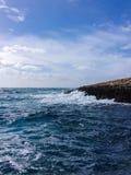 Большой ломать волн Стоковое Фото