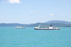 большой остров скрещивания корабля Стоковые Фотографии RF