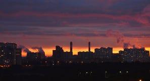 Большой отход города Стоковая Фотография