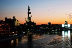 большой памятник moscow peter к Стоковая Фотография