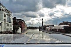 большой памятник moscow peter к Стоковая Фотография RF