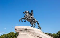большой памятник peter Стоковое фото RF
