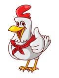 Большой палец руки цыпленка иллюстрация вектора