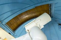 Большой профессиональный телескоп в обсерватории Стоковое фото RF