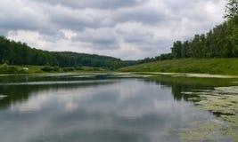большой пруд Стоковые Фотографии RF