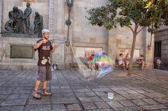 большой пузырь Стоковые Фотографии RF