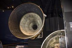 Большой ракетный двигатель Стоковые Изображения RF