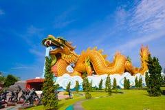 Большой дракон на музее публики выходцев дракона Стоковые Изображения RF